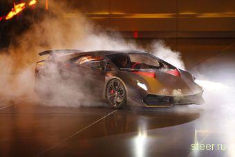 Lamborghini открыла завесу тайны над новым супер-каром Sesto Elemento (фото и видео)