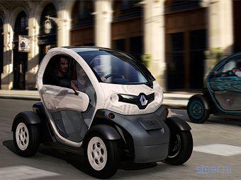 Renault Twizy : через год Renault будет продавать двухместный электромобиль по цене скутера (фото)