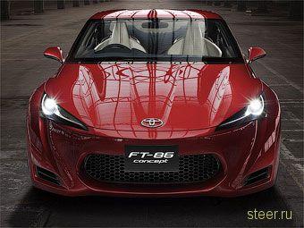 На логотипе нового купе Toyota изобразят оппозитный двигатель (фото)