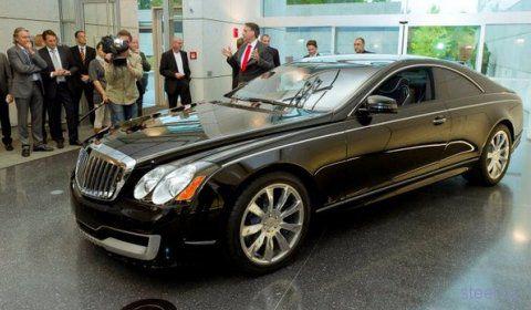 Начались продажи Maybach Cruiserio Coupe (фото)