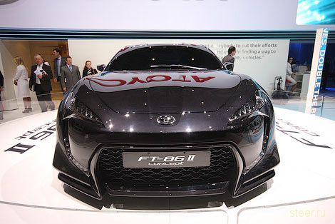 Toyota показала FT-86 II : новый вариант совместного с