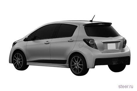 Первые изображения заряженного хэтчбека Toyota Yaris (фото)