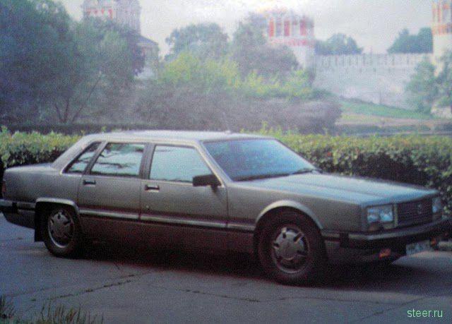 ЗИЛ 4102 – Русский Mercedes S600 (фото)