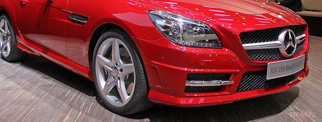 Новый Mercedes SLK: скорость и волшебство (фото)