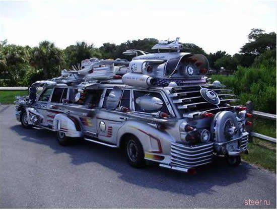 Эстремальный тюнинг лимузина (фото)