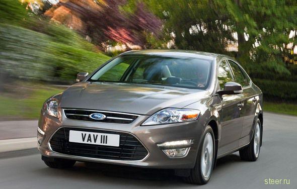 Новый Ford Mondeo : первая информация (фото)
