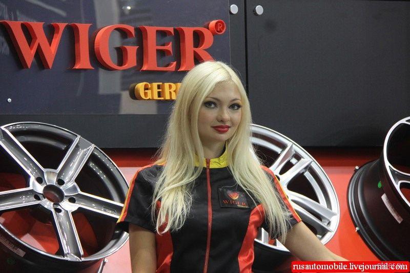 Самые красивые девушки автошоу Интеравто 2011 (фото)