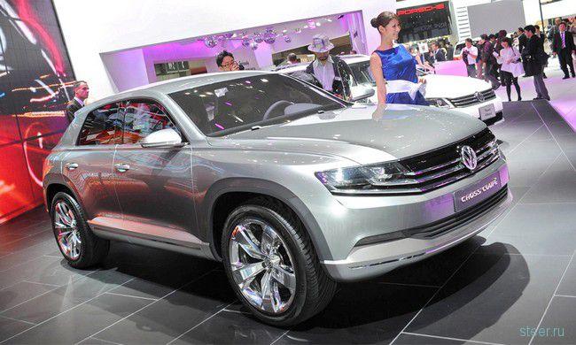 Volkswagen Cross Coupe Concept : Porsche Cajun показали миру под ширмой VW (фото)
