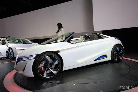 В Токио дебютировал спортивный электрородстер Honda EV-Ster (фото)