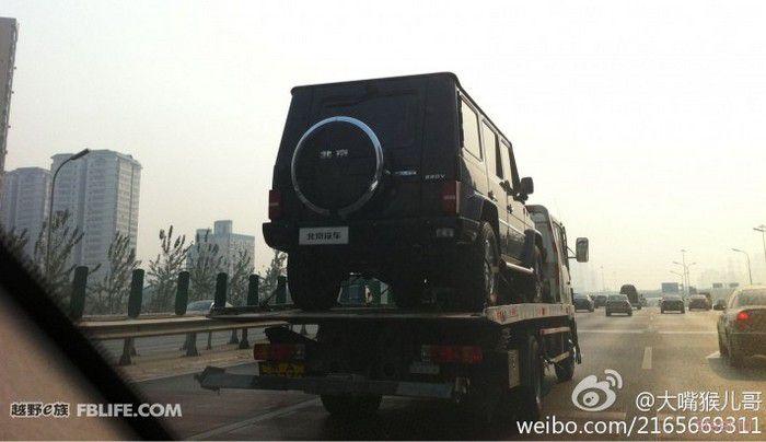 Китайцы скопировали легендарный Mercedes Gelandewagen (фото)