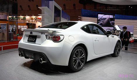Россияне смогут купить заднеприводное купе Subaru в 2012 году (фото)