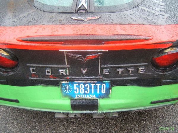 Самый ужасный Corvette, сделанный своими руками (фото)