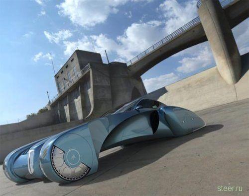 Bugatti Stratos - авто будущего? (фото)