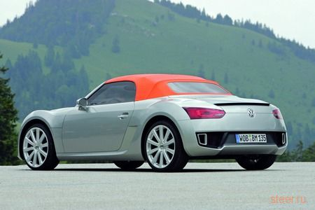 Родстер Volkswagen BlueSport прошел первый тест-драйв в присутствии журналистов (фото)