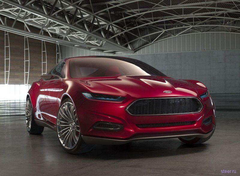 Суровый концепт-кар Evos покажет будущее дизайна марки Ford (фото)