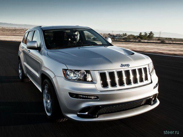 Jeep Grand Cherokee бросает вызов Кайену (фото)