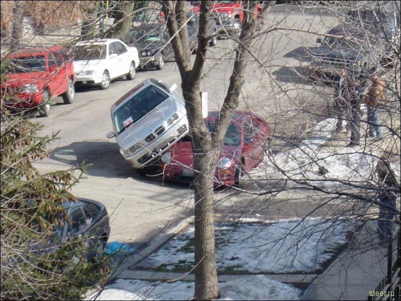 Парковочные курьезы (фото)