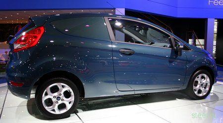 Fiesta Panel Van