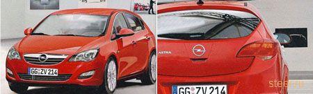 Как будет выглядеть Opel Astra нового поколения?