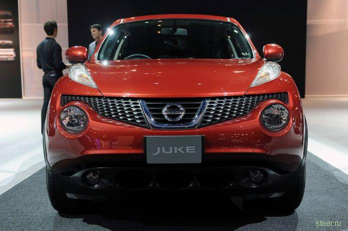 Сколько будет стоить компактный кроссовер Nissan Juke? (фото)