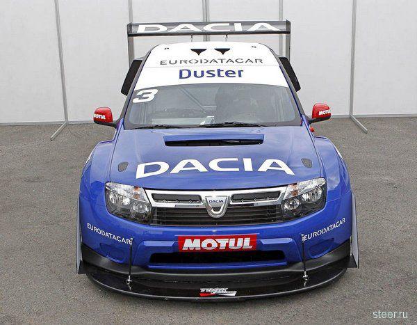 Dacia Duster : споркар на базе Logan с двигателем от Nissan GT-R (фото)