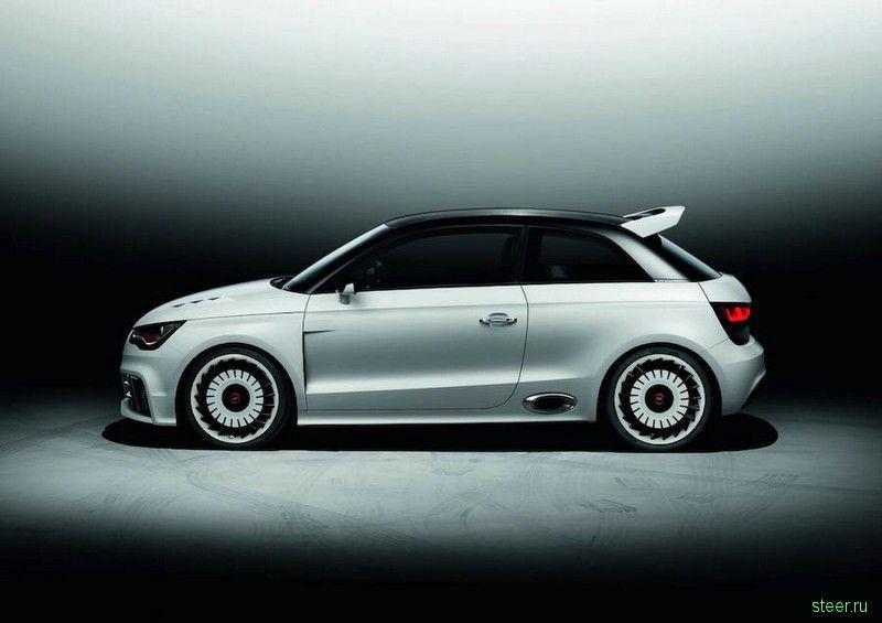 Сделан экстремально мощный Audi A1 (фото)