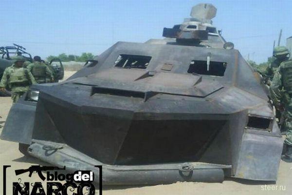 Рукотворный тюнинг броневика мексиканского нарко-картеля (фото)