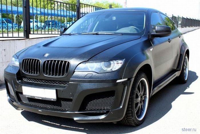 Кожаный тюнинг для BMW X6 (фото)