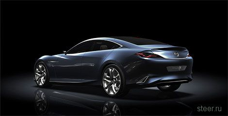 Компания Mazda представила новый стиль для своих моделей (фото)
