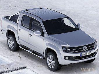 Немецкий журнал рассекретил пикап VW Amarok за месяц до премьеры (фото)