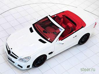 Brabus представил 750-сильный родстер Mercedes-Benz SL (фото)