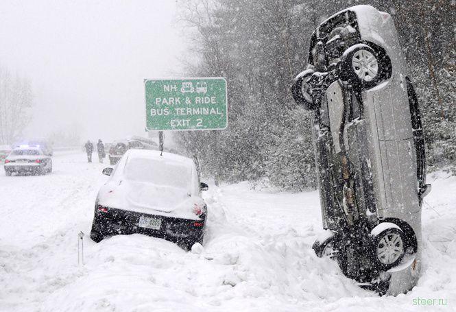 Зима в Чикаго (фото)