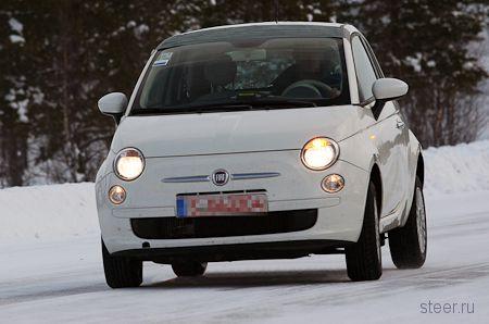 Первые фото полноприводного Fiat 500 (фото)