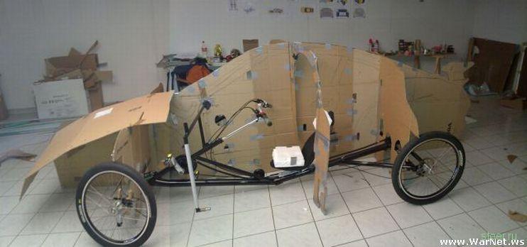 Как из велосипеда сделать машину на педалях