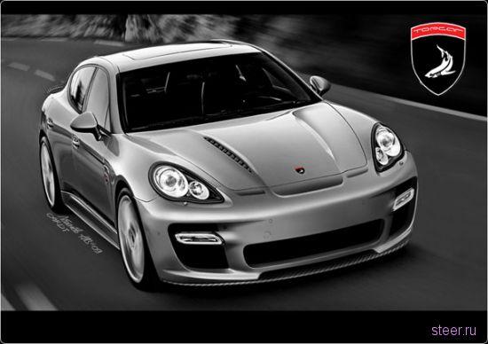 Porsche Panamera Top Car – русские показали как надо тюнинговать Porsche (фото)