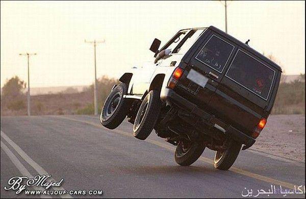 Дорожные трюки по-арабски (фото)