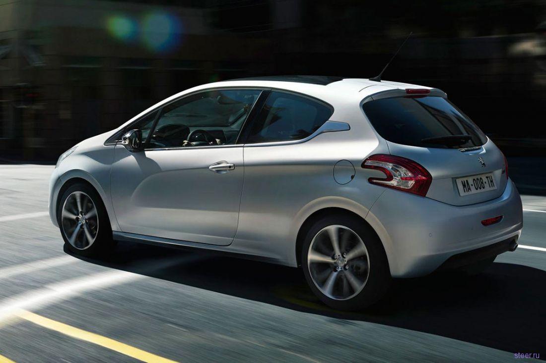 Раскрыт дизайн нового хэтчбека Peugeot 208 (фото)