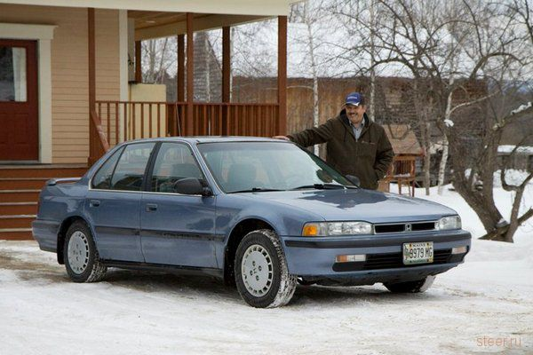 Американец проехал на Honda Accord 1 миллион миль (1,6 млн км) за 15 лет