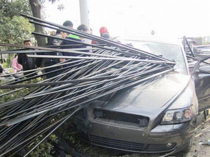 Ужасная авария (фото)